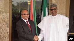 Zuma e Buhari