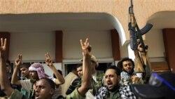 جنگ خیابانی میان مخالفان و نیروهای دولتی لیبی در بریقه
