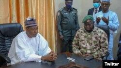 TASKAR VOA: Gwamnan Jihar Borno A Najeriya Ya Ce Yunkurin Halakashi Ba Zai Sa Ya Karaya Ba