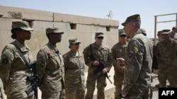 Binh sĩ Mỹ ở Afghanistan.