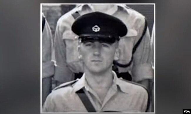 Rick Rescorla. (Hình: Trích xuất từ video American Veterans Center)