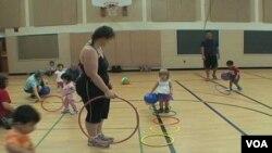 My Gym, un gimnasio para niños, cuenta con 150 sucursales en EE.UU. y alrededor de otras 60 en el exterior.