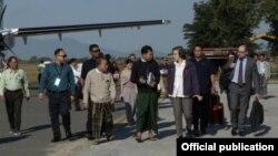 ကုလသမဂၢအထူးကုိယ္စားလွယ္ Yanghee Lee ရဲ ႔ ကခ်င္ျပည္နယ္ ခရီးစဥ္ (MOI)