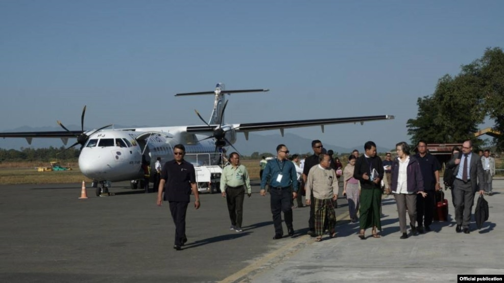 Yanghee lee kachin trip (MOI)