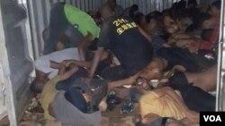 Autoridades moçambicanas encontraram 64 corpos de migrantes etíopes asfixiados num contentor, em Tete. 14 sobreviveram. 24 março, 2020
