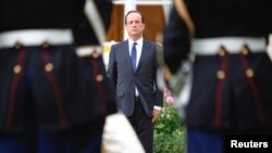ທ່ານ Francois Hollande ປະທານາທິບໍດີຄົນໃໝ່ຂອງຝຣັ່ງ