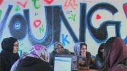 New Internet Cafe Connects Afghan Women to World