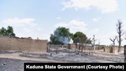 Des hommes armés ont attaqué un quartier de Birnin Gwari, dans l'État de Kaduna, Nigeria, 7 mai 2018.
