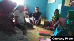 Kelas Ibu Hamil, sebuah kegiatan yang diselenggarakan oleh Puskesmas Dlingo 1 (Foto: dok/Puskesmas)