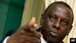 Cheikh Gadio, waziri wa zamani wa mambo ya nje wa Senegal.