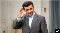 Iranian President Ahmadinejad (file photo).