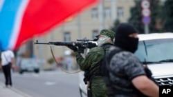 Separatisti u Donjecku, u istočnoj Ukrajini