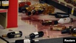 В магазине CVS после землетрясения