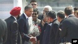 奧巴馬抵達印度正式展開訪問行程。