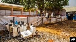 Klinik ebola sepi pasien setelah menurunnya jumlah kasus ebola di Freetown, Sierra Leone (foto: dok). Liberia juga melaporkan tidak ada lagi kasus baru ebola selama lebih dari seminggu.