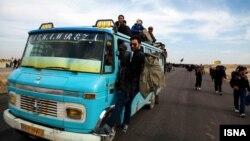 زائران ایرانی در مرز مهران -۱۳۹۳