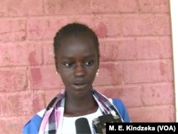 Harisa Aisatousays she wants to be journalist.