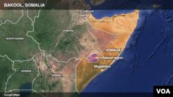 Ramani ya Somalia