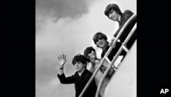 The Beatles: Paul McCartney, Ringo Starr, John Lennon et George Harrison.