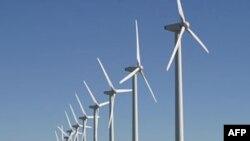Trại năng lượng gió trong lục địa ở bang Texas