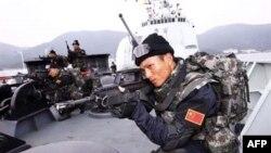 Các cuộc tập trận nhằm biểu dương lực lượng hiện đại của các sư đoàn thủy quân lục chiến Trung Quốc