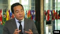 美国驻联合国人权理事会代表基思·哈珀大使(资料照)