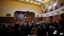 Poslanici Narodne skupštine raspravljaće krajem maja o Kosovu, Foto: AP Photo/Darko Vojinovic