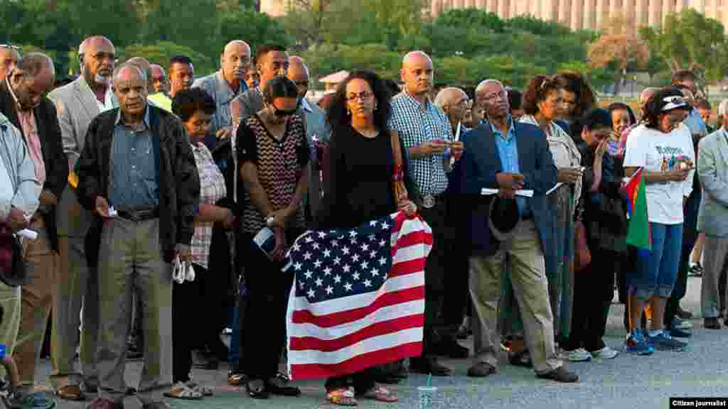 Candlelight Vigil for Eritrean victims of the Mediterranean Sea