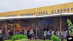 FILE - Roberts International Airport in Monrovia, Liberia.
