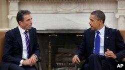 بحث اوباما و راسمسن روی افغانستان