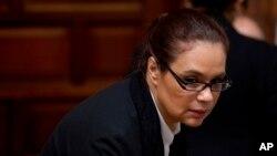 Hasta ahora ni la exfuncionaria de Guatemala, ni el exministro del Interior han sido acusados de narcotráfico en Guatemala.