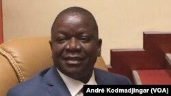Pahimi Padacké Albert premier ministre chef du gouvernement à N'Djemena, Tchad, le 17 novembre 2016. (VOA/André Kodmadjingar)