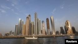 A general view of Dubai Marina, in Dubai, United Arab Emirates, May 23, 2015.