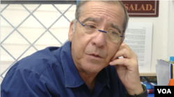 Pini Shmilovich, a retired brigadier general in Israel's internal security service Shin Bet, has found a new calling as a supervisor of the country's only high school program about Iran in Petah Tikva, Israel.