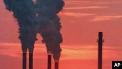 二氧化碳排放。(資料圖片)