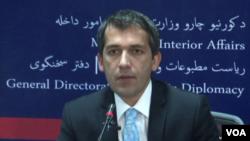 صدیق صدیقی، سخنگوی وزارت داخله