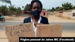 Jaime Domingos, Jaime MC, rapper angolano e ativista