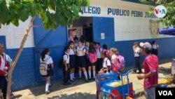Centro Educativo San Sebastián en Managua, Nicaragua. [Foto: Daliana Ocaña, VOA].