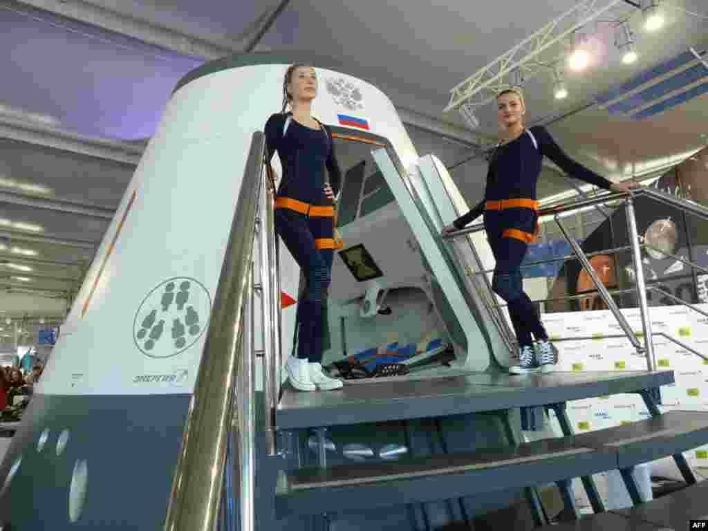 Концептуальный макет перспективного российского пилотируемого космического корабля
