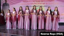 Jinên Êzidî li Herêma Şehba Û Rojava