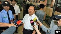 Bộ trưởng Cai Wu đến thăm Đài Loan và lưu lại trong tuần qua để tìm cách mở rộng trao đổi văn hóa giữa 2 bên