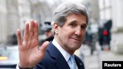 Wezîrê Derve John Kerry, roja Duşemê li Londonê,