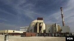 Reaktor nuklir Bushehr, akan menjadi yang pertama dalam jaringan stasiun pembangkit listrik nuklir di Iran.