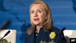 La secretaria de Estado de EE.UU. estará en representación del presidente Barack Obama.