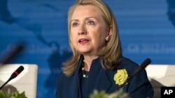 Primero Clinton irá a Cartagena acompañando al presidente Barack Obama.