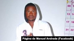 "Manuel Andrade, ""Mensageiro Andrade"", activista na Huíla, Angola"