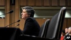 13일 열린 미국 이민 개혁 청문회에서 재닛 나폴리타노 국토안보장관.
