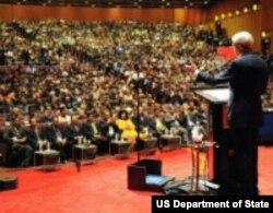 美国国务卿克里(美国国务院照片)