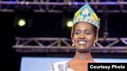 Miss Rwanda 2019 Nimwiza Meghan
