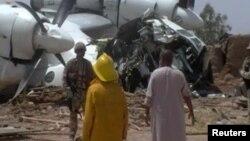 Debido al clima el helicóptero realizó un aterrizaje de emergencia en una zona de conflicto al este de Afganistán.